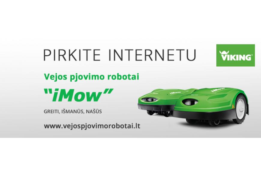 STIHL ir VIKING akumuliatoriniai įrenginiai INTERNETU!