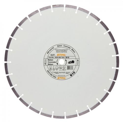 Deimantinis pjovimo diskas STIHL D-B10 (400 mm)