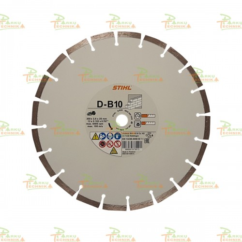 Deimantinis pjovimo diskas STIHL D-B10 (300 mm)