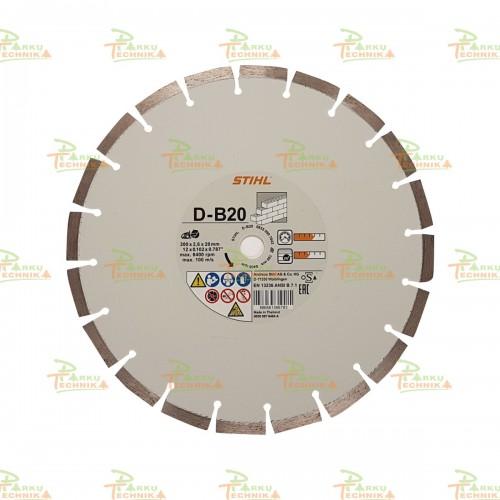Deimantinis pjovimo diskas STIHL D-B20 (300 mm)