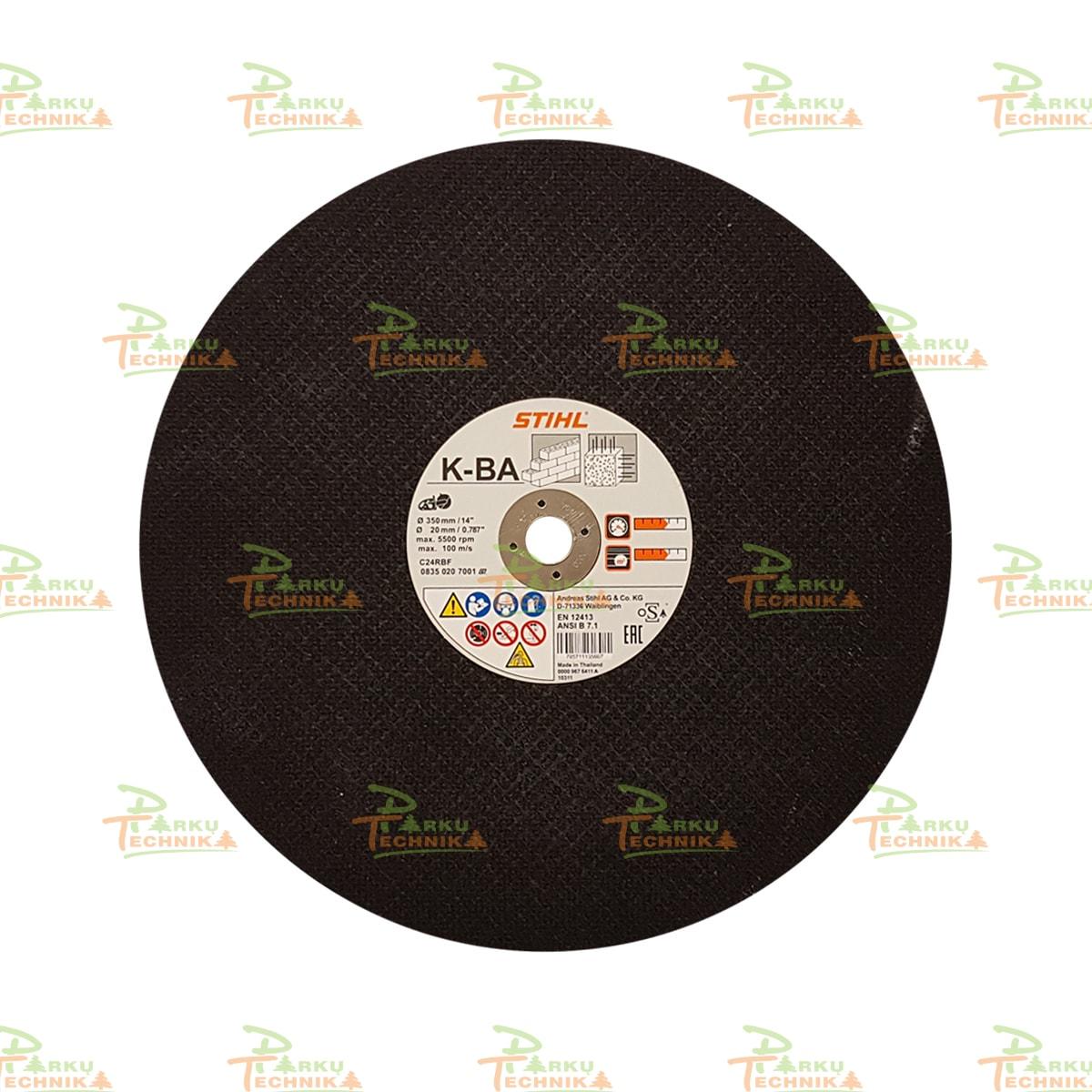Abrazyvinis pjovimo diskas STIHL K-BA (350 mm)