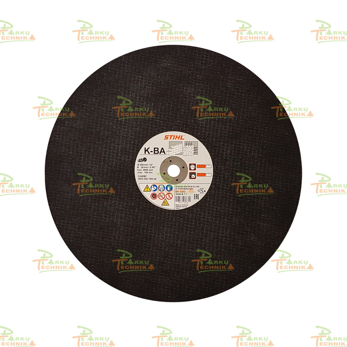 Abrazyvinis pjovimo diskas STIHL K-BA (400 mm)