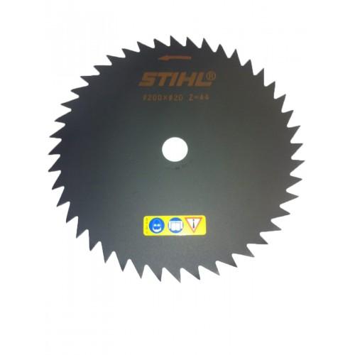 Krūmų pjovimo diskas STIHL su smailiais dantimis (200 mm, 44 Z)
