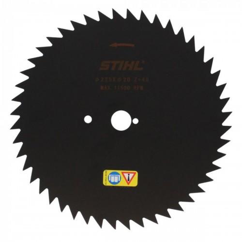 Žolės pjovimo diskas STIHL su smailiais dantimis (225 mm, 48 Z)