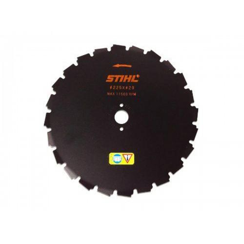 Krūmų pjovimo diskas STIHL su kaltiniais dantimis (225 mm, 24 Z)