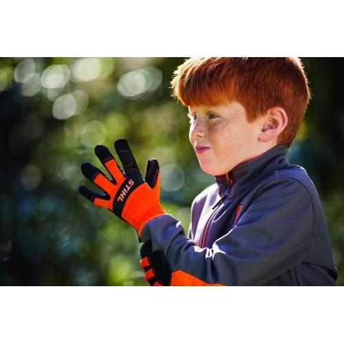 STIHL vaikiškos darbinės pirštinės (dydis M)