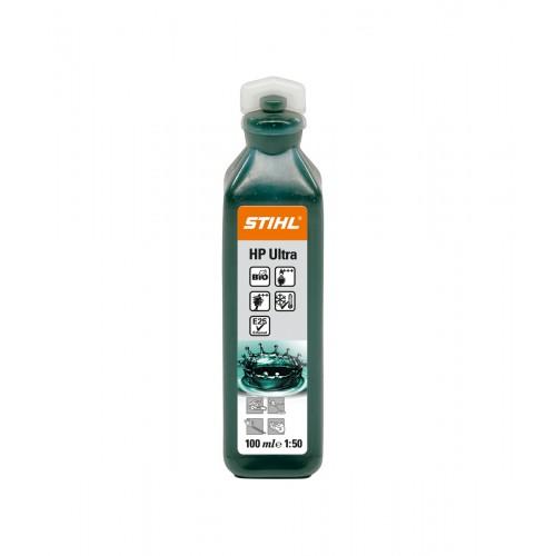 Dvitakčių variklių alyva STIHL HP Ultra 100 ml (skirta 5 l)